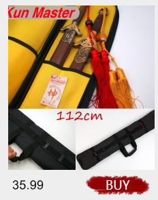 HTB1odO4RFXXXXbLapXXq6xXFXXXd - Tai chi sword set 1.3m lengthen edition sword bags double layer High Quality Oxford Fabric Leather Kendo Aikido Iaido