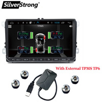 SilverStrong Android8.1 Car Multimedia player for VW Passat Radio Car DVD GPS For VW Golf GPS For VW Polo GPS Navigation 68S 6
