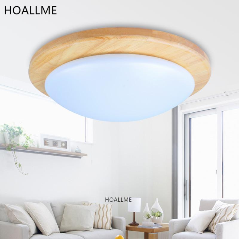 Japanischen Stil Tatami Holz GEFHRTES Runde Deckenleuchte Lampe Leuchte Hause Innen Wohnzimmer Esszimmer Balkon Dia35