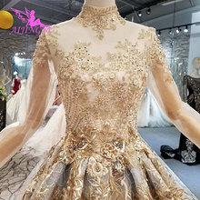 AIJINGYU Pricess Vintage Gowns For Bride Wedding Dresses