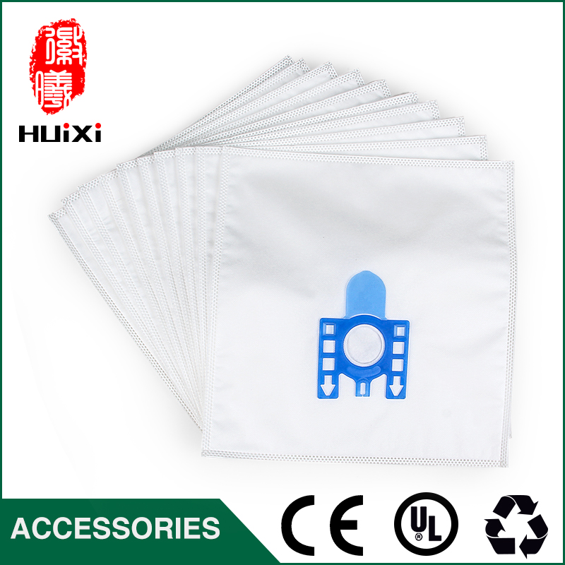 High Efficient dust bag 10pcs White Cloth Bag for MEILE S8330 S8530 Vacuum Cleaner Accessories to Collecting Dust for House чехол melkco for samsung 8530 в санкт петербурге
