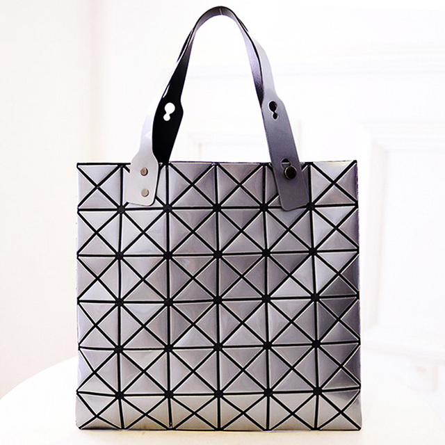 d1209d5db6 Japan Style Geometric bag Women Handbags Fashion Casual Tote Designers  Famous Brand Bao Bao Issey Miyake