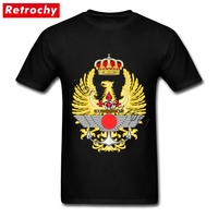 Emblem Of The Spanish Armed Forces T Shirt Men Luxury Brand Tee Shirts Short Sleeved Youth