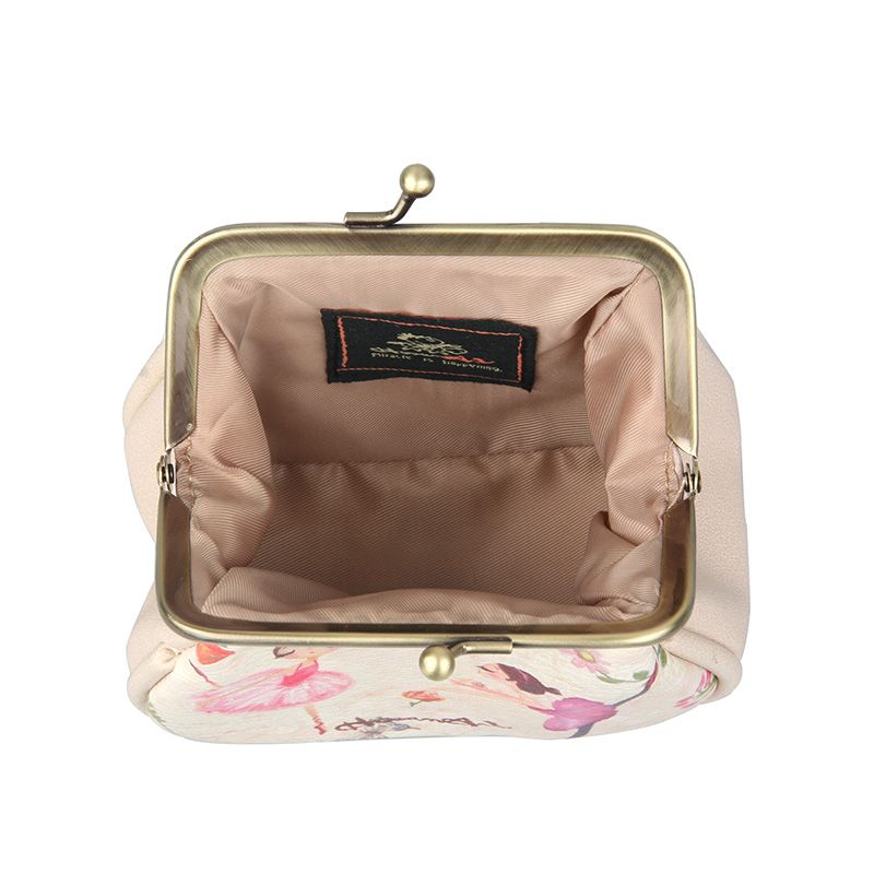 a719510cf6 2017 High Quality PU Women Purse Hand Bag Beige Coin Purse Key Wallet Card  Package Clutch Handle Bags Girls Wallets Kids Package-in Coin Purses from  Luggage ...