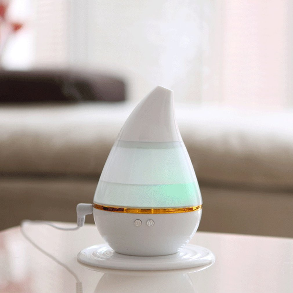 2019 Unique Outlook Aroma Essential Oil Diffuser 3D Effect LED Air Humidifier Ultrasonic Quiet Air Purifier
