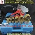 Gratis Verzending Temperatuur Gecontroleerd PPR Lasmachine, Plastic Lasmachine, Plastic Lasser, AC 220/110 V 800 W 20-63mm