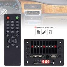 5V Car Audio Video Player Decoder Board MP3 Audio Decoder Board Module MP3 Player USB SD AUX with Remote Control for Car DVD цены