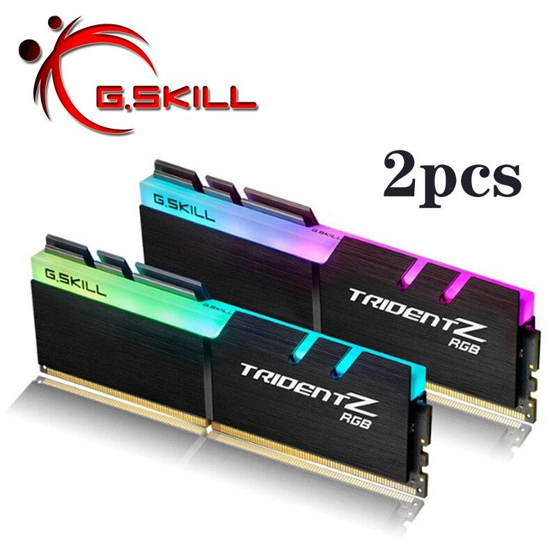 G. Skill Trident Z RGB PC RAM DDR4 mémoire PC4 8 GB 32 GB 16 GB 3200 Mhz 3000 Mhz 3600 Mhz 4266 Mhz bureau 8G 16G 3000 3200 MHZ DIMM