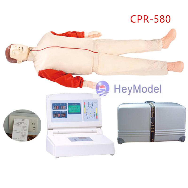 HeyModel LCD color display computer CPR580 emergency training Manikin lc171w03 b4k1 lcd display screens