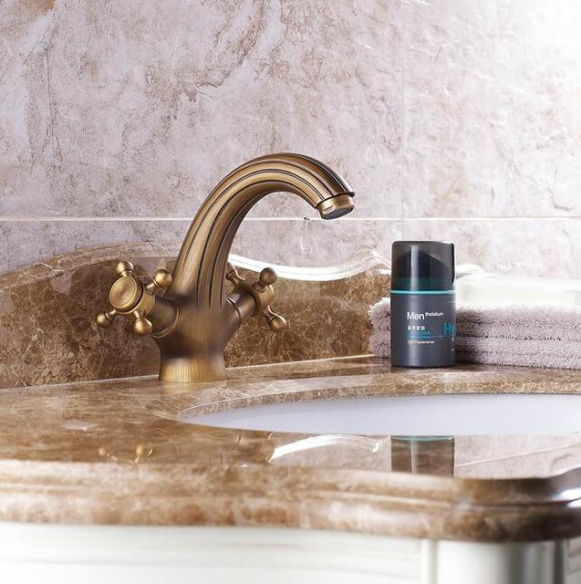 Free Shipping Wholesale And Retail Antique Bronze Bathroom Faucet - Antique bronze bathroom fixtures