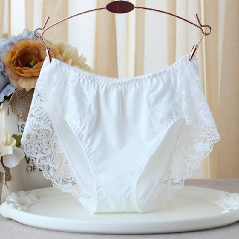 RUIN LN Women's Underpants Milk And Silk Panties Seamless Untra-thin Underwear Intimates Briefs Ladies Underwear