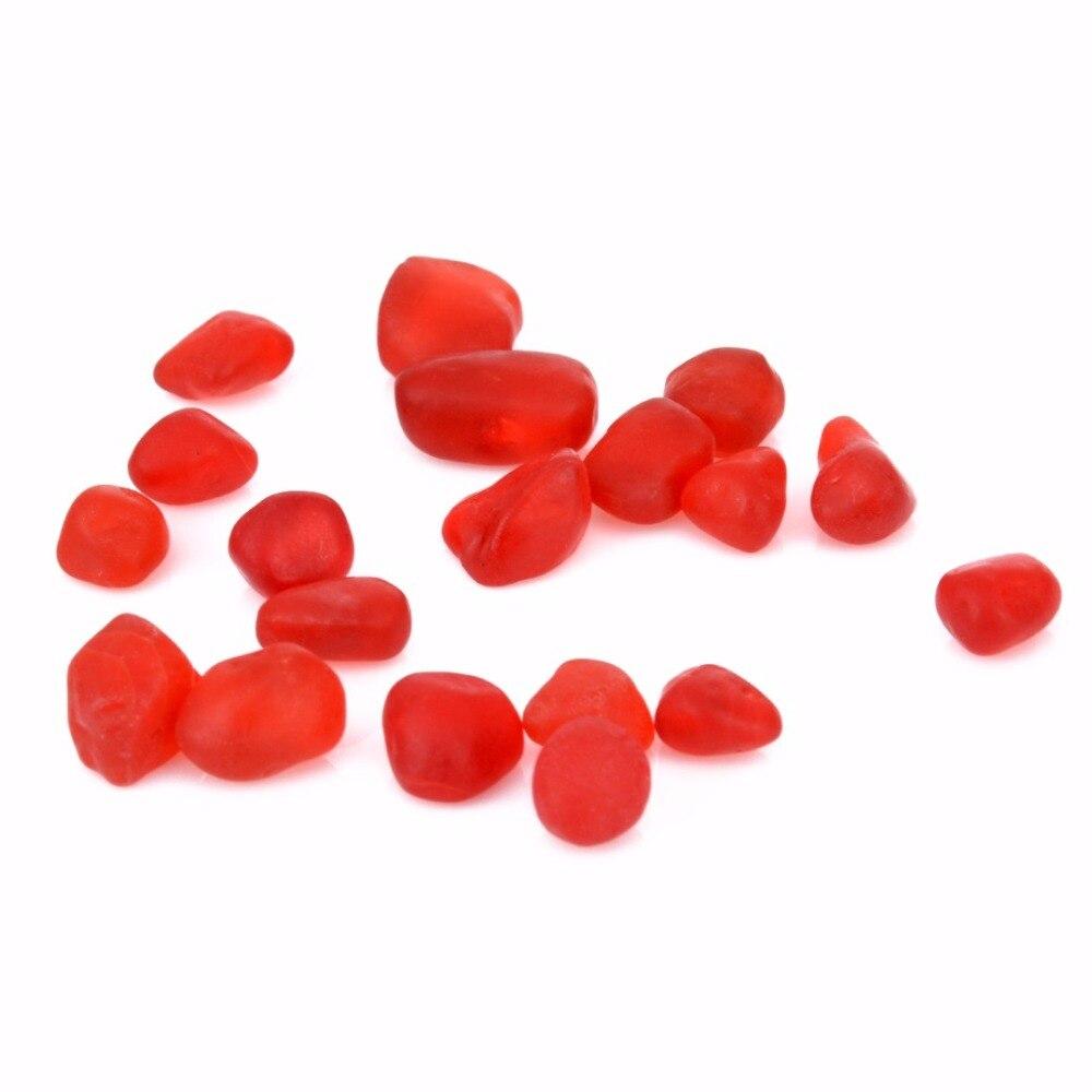 20 Stücke Meer Strand Glas Perlen Schmuck Machen Anhänger Für Ohrringe Halskette Armband Aquarium Aquarium Hochzeit Dekoration 8- 12mm