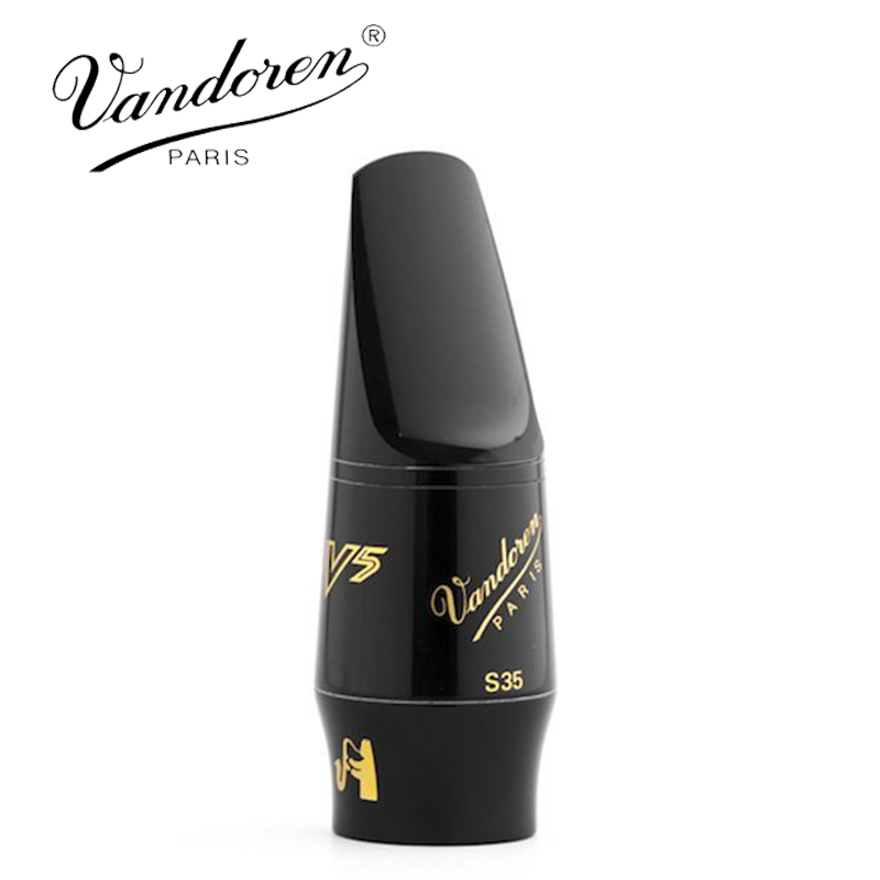 Vandoren SM403 S35 V5 Series Soprano Sax Mouthpiece / Soprano Sib-Bb Saxphone Mouthpiece professional play h68 phosphor bronze copper bb saxphone falling tune b bakelite mouthpiece head sax straight saxophone in bb