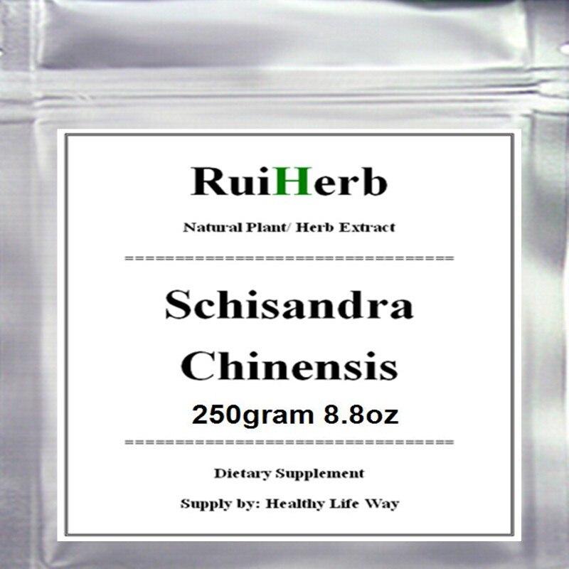 250 gramm Schisandra Chinensis Extract Powder Stärkste Antioxidans kostenloser versand