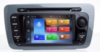 Android 8.0 7.1 CAR DVD GPS Player Bluetooth Car Sat Nav Stereo Radio Navigation 2 Din GPS Head Unit For SEAT IBIZA 2009 2013