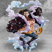 One Piece Battle Ver Monkey D Luffy Gear 4 Bound Man King Kong Gun Model Toy Luffy Action Figure Collection Decoration Kids Toys