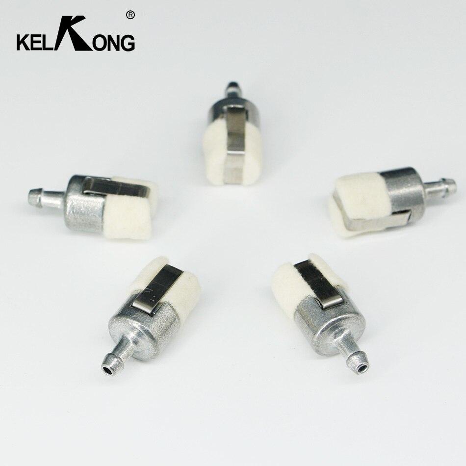 KELKONG 5 Pcs Gaz Filtres À Carburant Pour Homelite Stihl Pouland Echo Carburateur Tronçonneuses 1Z686