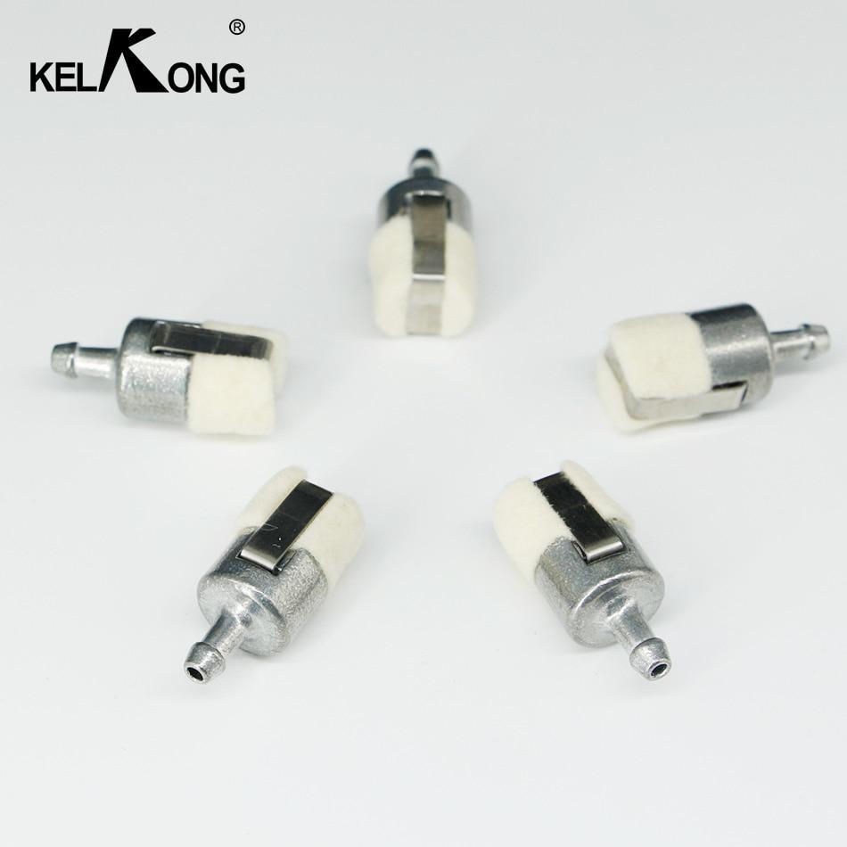 medium resolution of kelkong 5pcs gas fuel filters for homelite stihl pouland echo carburetor chainsaws 1z686