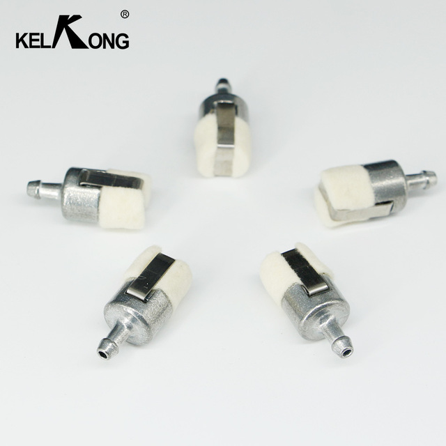 kelkong 5pcs gas fuel filters for homelite stihl pouland echo
