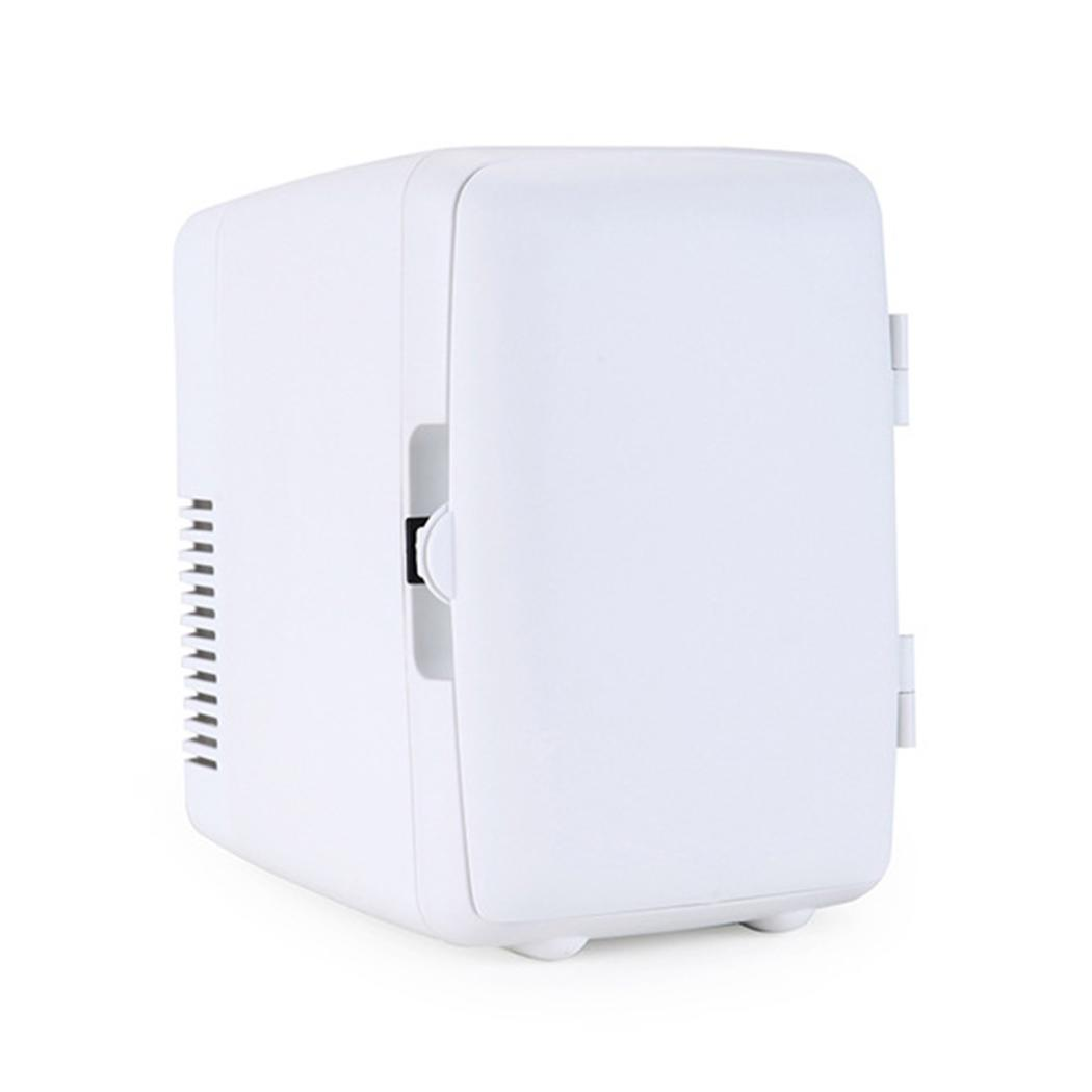 Car Refrigerator 4L Portable Mini Hot and Cold Refrigerator(China)