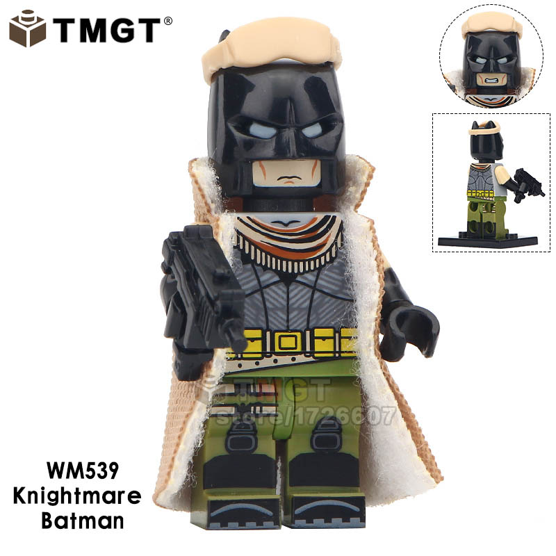 Toys & Hobbies Blocks 50pcs Building Blocks Red Son Knightmare Batman Black Lightning Wild Dog Wild Dog Robin Question Figure For Kids Children Toys Making Things Convenient For Customers