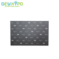 12ft Premium Straight Pop Up Banner Advertising Display Frame With Your Own Design Printing,Exhibition Booth Pop Up Wall