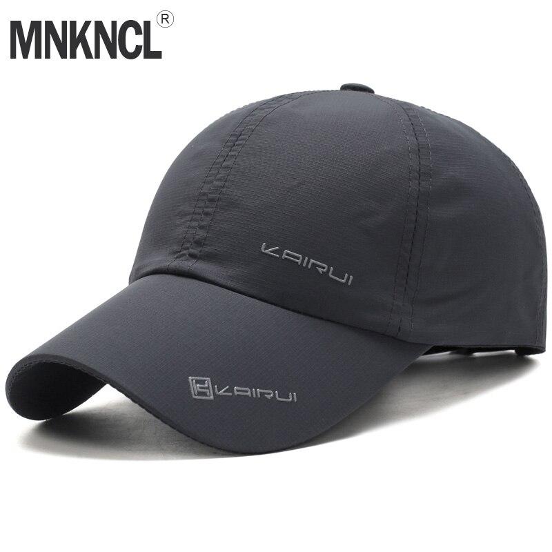MNKNCL 2018 New Baseball Cap Leisure Sport Cap Summer Quick-drying Sun Hat Unisex UV Protection Outdoor Cap