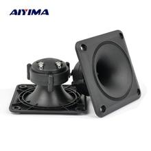 Aiyima Audio Speakers 2 st Piëzo Tweeter 87*87mm Luidspreker Piezo Tweeter Treble Audio Speaker DIY