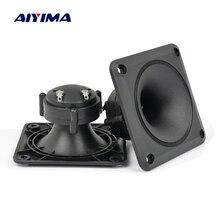 Aiyima مكبر صوت s 2 قطعة كهرضغطية مكبر 87*87 ملليمتر مكبر الصوت بيزو مكبر التريبل مكبر صوت DIY