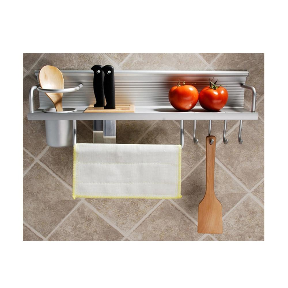 GOHIDE good storage aluminum rack shelves kitchen tools holder font b knives b font shelf kitchen