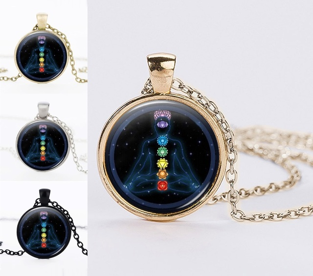 Chakra yoga pendants necklaces jewelry om healing balancing chakra yoga pendants necklaces jewelry om healing balancing statement necklaces chain necklace online shopping india aloadofball Gallery
