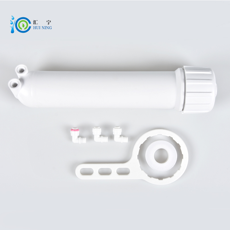FREE SHIPPING for water purifier system 10 inches membrane housing water filter 10 stainless steel water filter housing for high temperature water filter system