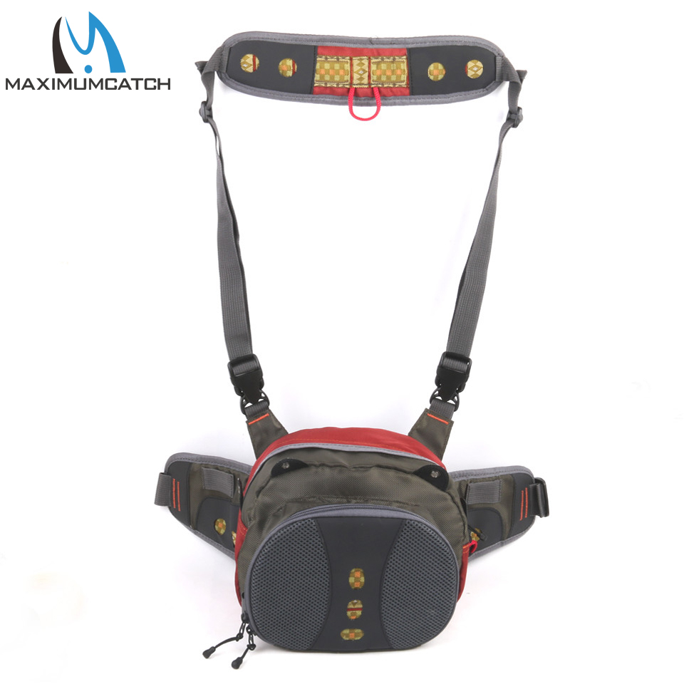 Maximumcatch V-comf Fly Fishing Waist Bag FishingTackle Pack Bag With Fishing Tools