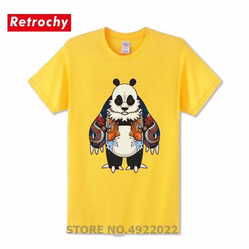 Cotton T-Shirt,Mountains Trees Eagles Fashion Personality Customization