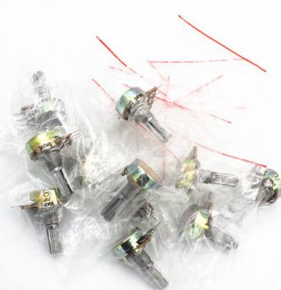 Free shipping 18pc WH148 Rotary Potentiometer kit 15MM 20mm Rotary amplifier Potentiometer kit With nuts