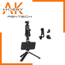 PGYTECH OSMO Pocket Universal Mount Kit Universal Mount to 1 Action Camera L Bracket 4 Data Port to Universal Mount cheap GoPro Compatible Camera Not Included None P-18C-030 031 032 033 PowerVision Aluminum Action Camera Accessories Kits