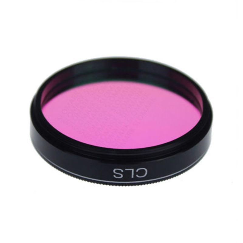 New 1.25'' CLS Light Pollution &  nebula Filter 1.25 Inch / 31.7MM Astronomy Telescope Filter kase 77 82mm natural night filter light pollution filter