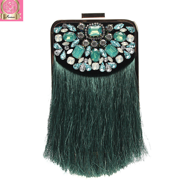 2018 Luxury Famous Designer Banquet Bag Party Clutch Evening Bag Wedding Purse Tassel Hand Bag Mini Box High Quality Hand Made