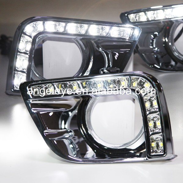 2009-2013 year For Toyota for FJ Cruiser FJ150 Prado 2700 LED DRL Daytime Running Light for toyota fj cruiser 2007 13 double