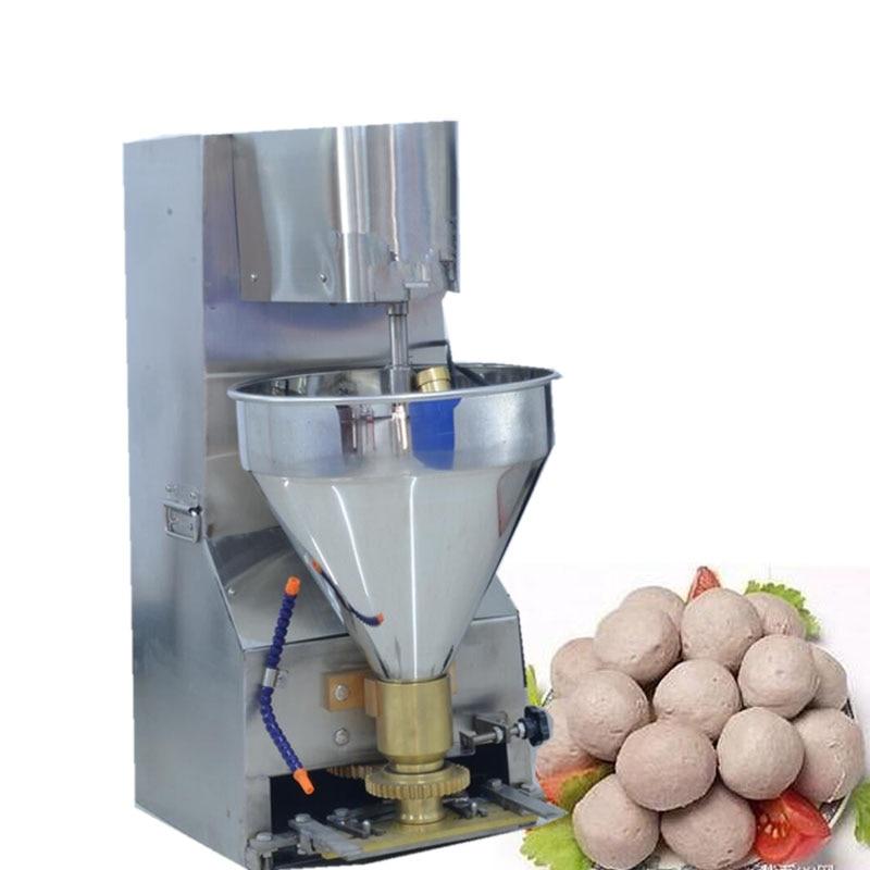 Ev Aletleri'ten Mutfak Robotları'de Ucuz fiyat paslanmaz çelik yüksek hızlı otomatik balık topu tavuk topu köfte yapma makinesi title=