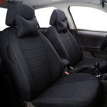 Car Believe car seat cover For golf 4 5 VOLKSWAGEN polo sedan 6r 9n passat b5 b6 b7 Tiguan accessories covers for vehicle seat недорого
