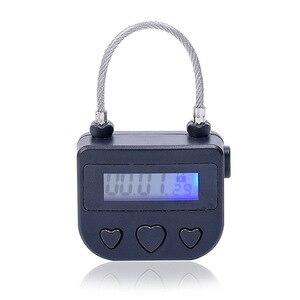 Image 3 - Bondage tiempo bloqueo fetiche esposas electrónico auto Bondage impermeable USB par interruptor de juguetes candado juego adulto Defa Cable 5V