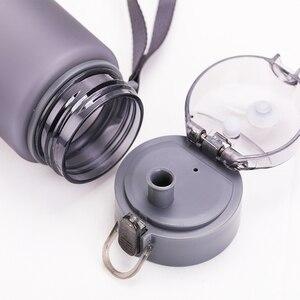 Image 5 - زجاجة مياه 560 مللي 400 مللي البلاستيك درينكوير جولة الرياضة في الهواء الطلق المدرسة مانعة للتسرب ختم غورد تسلق زجاجات مياه