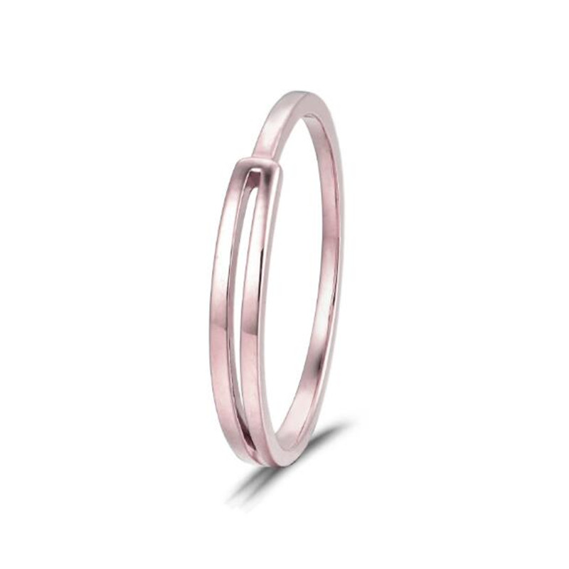 Natural Ring 18k Pure Gold Classic Girl Gift Women Hot Selling Party Trendy New 2018 Discount Nice Good Rings Customize
