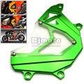 FSC-KA002-GR Verde Moto Piñón Delantero Panel de Cubierta Del Motor Izquierdo Guardia de Protección de La Cadena De Aluminio Para Kawasaki Z800 2013-2015