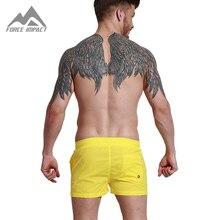 Desmiit Мода Лето Sexy Beach мужская Совета Шорты Досуг Подкладка Лайнер мужская Совета Шорты Fast Dry Эластичный Пояс шорты DT60