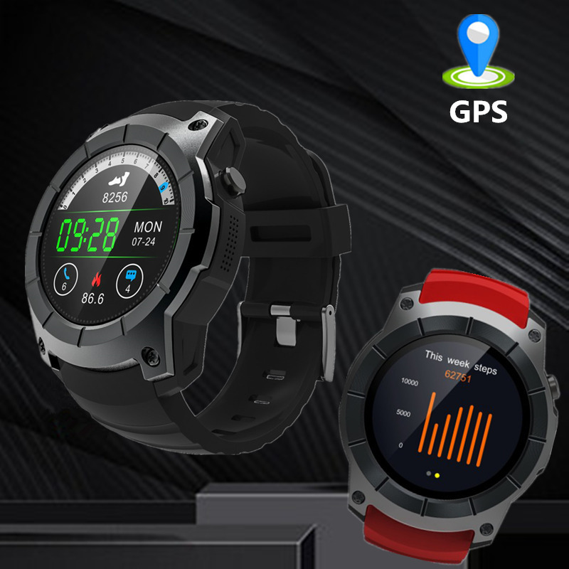 OGEDA 2019 GPS Smart Watch S958 Pedometer Fitness Tracker Heart Rate Monitor Smartwatch Sports Waterproof Support SIM TF CardOGEDA 2019 GPS Smart Watch S958 Pedometer Fitness Tracker Heart Rate Monitor Smartwatch Sports Waterproof Support SIM TF Card