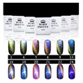 BORN PRETTY Cat Eyes Chameleon UV Gel Polish 10ml with Magnet Board for Nails Manicure Nail Art Tool