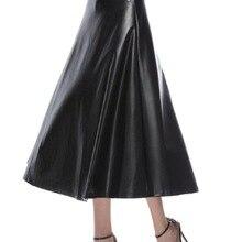 a33eb64c7 Compra black pleated leather skirt y disfruta del envío gratuito en ...