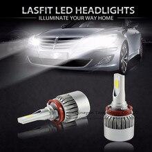 2×55 Watt 9200LM Auto Auto COB Led-scheinwerfer H1 H3 H4 H7 H8 H9 H11 9004 9005 9007 H13 Einzel/Hallo-Lo Strahl Ersetzen Halogen & Hid-lampen